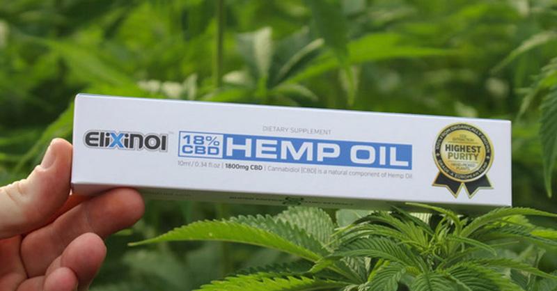 Elixinol CBD Hemp Oil Image